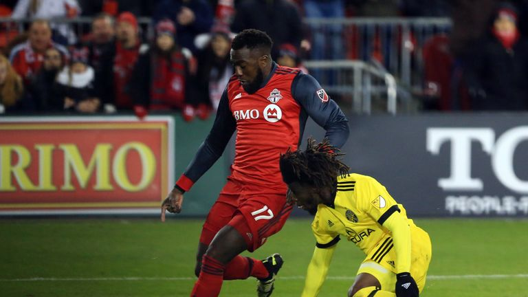 Toronto FC 1-0 Columbus Crew: Jozy Altidore nets victor