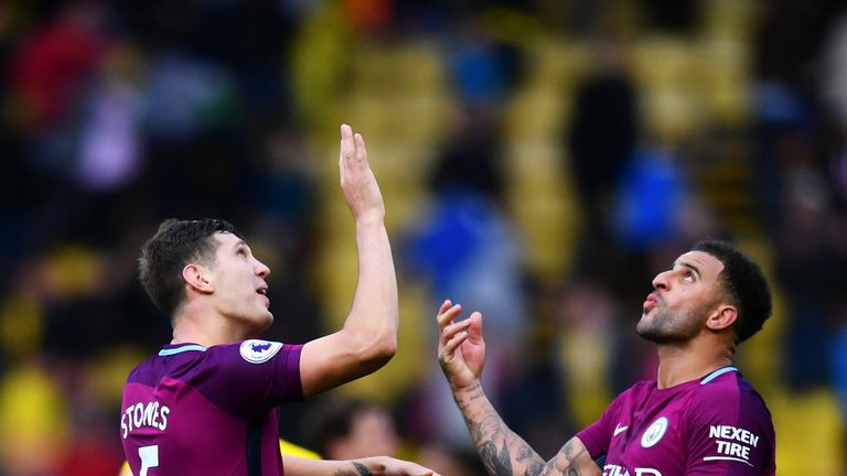 John Stones and Kyle Walker are hoping for England call-ups