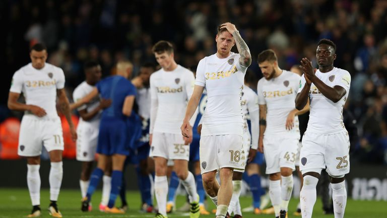 Leeds United are on a worrying slide of five defeats in six league games