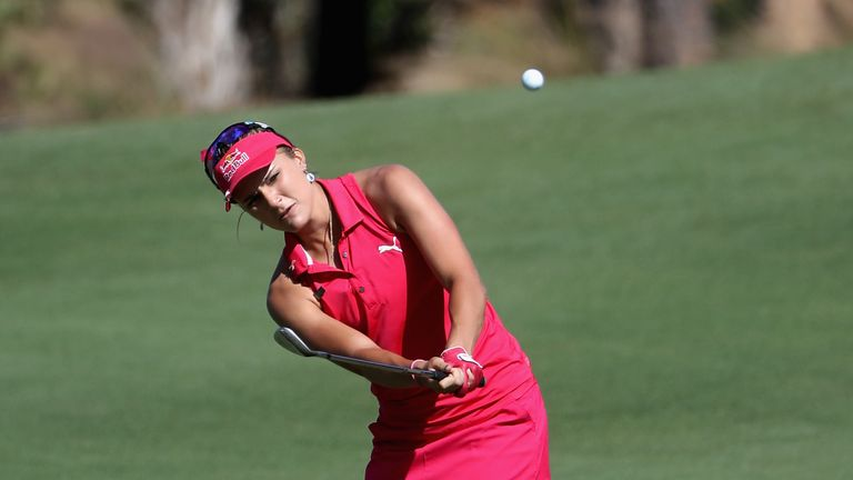 Lexi Thompson is tied for ninth