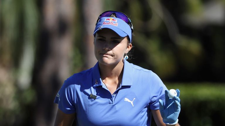Lexi Thompson missed out on major glory after a controversial rules incident at the ANA Inspiration