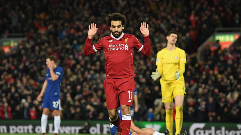Salah refused to celebrate when he scored against Chelsea in November