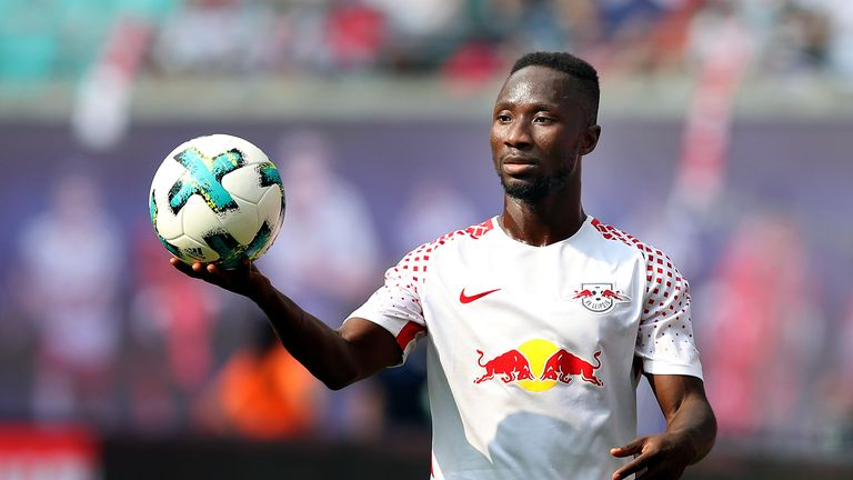 Naby Keita's RB Leipzig were ousted from the Champions League