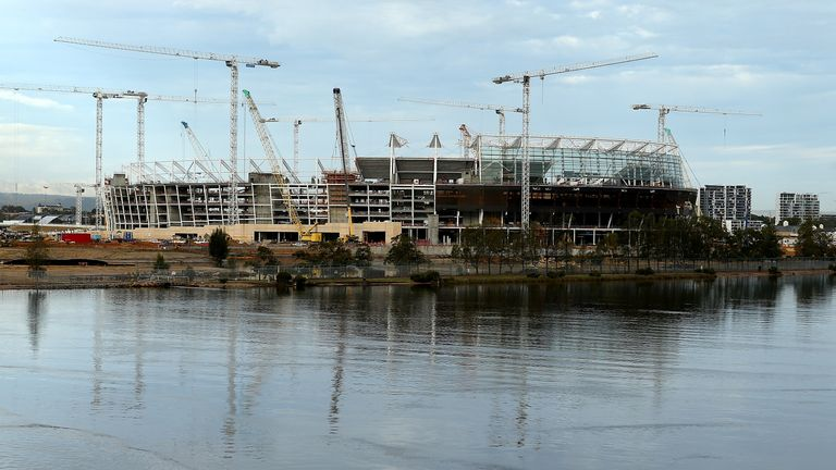 New opened Perth Stadium to host England vs Australia 5th ODI