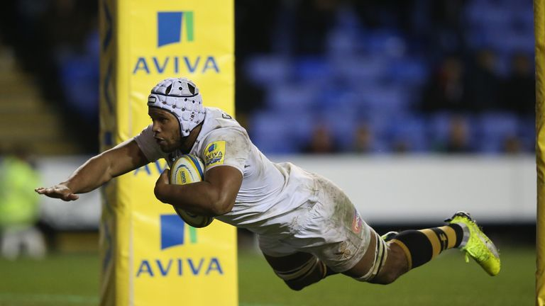 Nizaam Carr is joining Wasps on a permanent deal