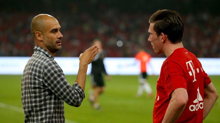 Hojbjerg worked under Guardiola at Bayern Munich