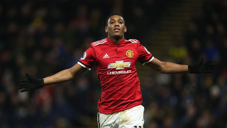 Manchester United are not looking to sell Anthony Martial, Sky sources understand