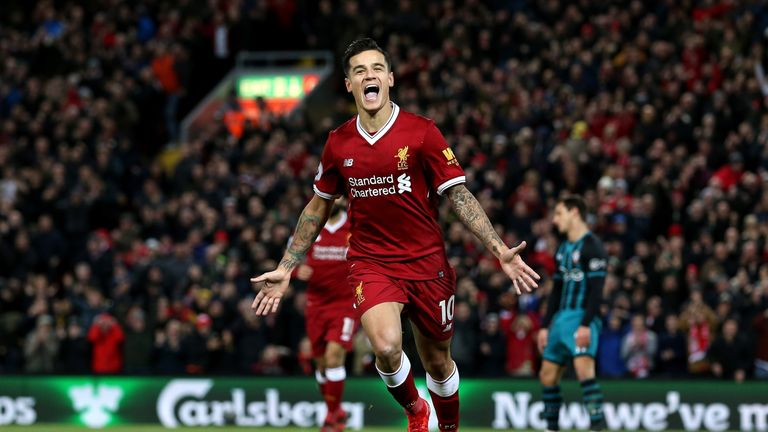 Liverpool can cope without Philippe Coutinho, says Alex Oxlade-Chamberlain