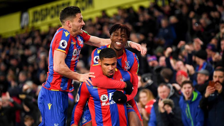 Crystal Palace have climbed off the foot of the Premier League table under Roy Hodgson
