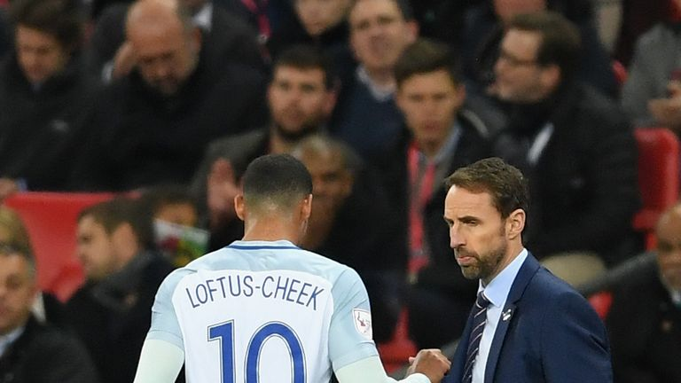 Loftus-Cheek impressed for England against Germany but was injured during the goalless draw with Brazil