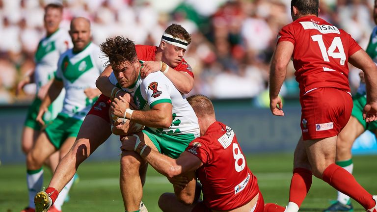 Ireland beat Wales 34-6 in their final match of the tournament