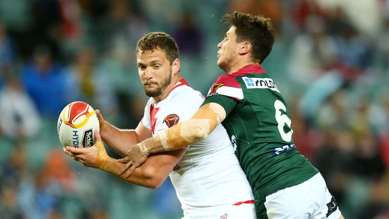 Sean O'Loughlin is crucial to England's chances on Saturday