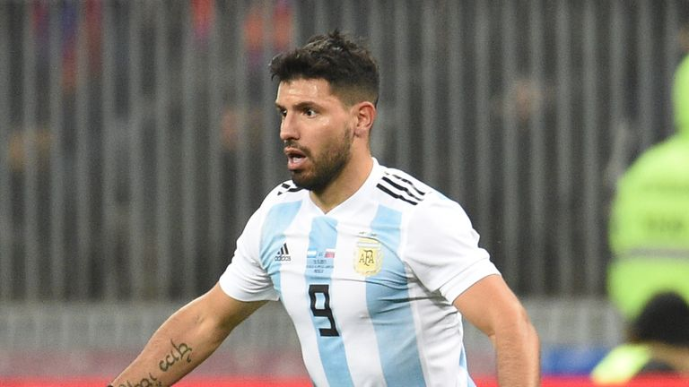 Will Aguero be fit to take part in Argentina's World Cup campaign?