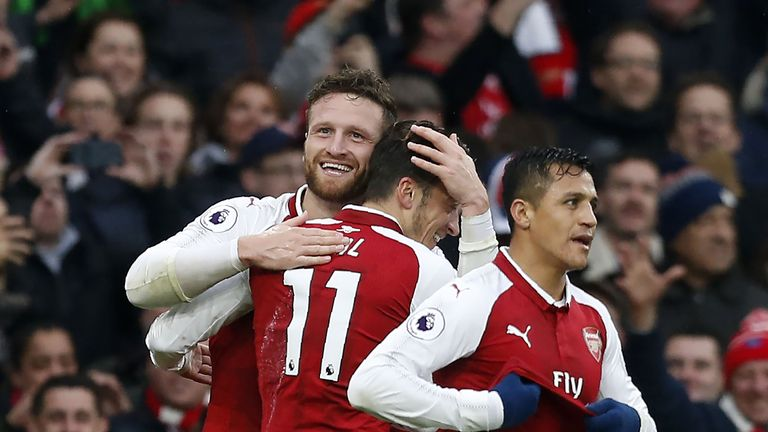 The German put in a man-of-the-match performance for Arsenal against Spuirs