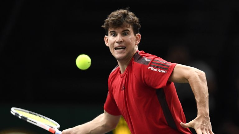 Thiem will take on Spain's Pablo Carreno Busta