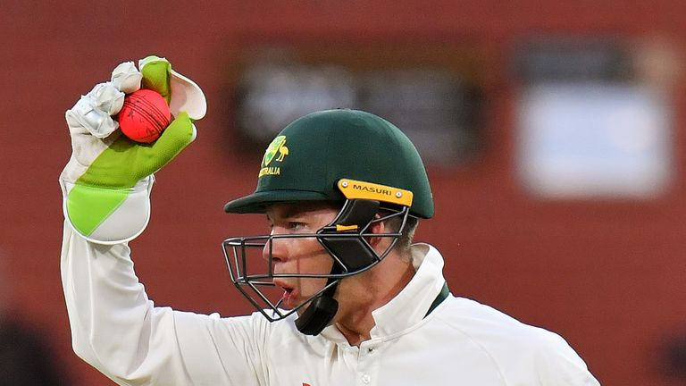 Tim Paine was selected as Australia's wicketkeeper ahead of Matthew Wade and Peter Nevill