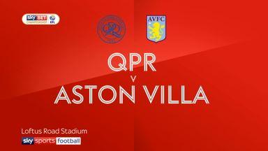 QPR 1-2 Aston Villa