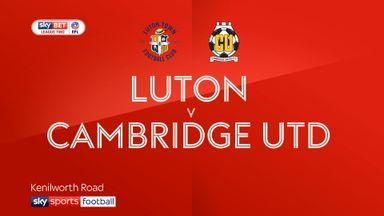 Luton 7-0 Cambridge