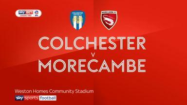 Colchester 0-0 Morecambe