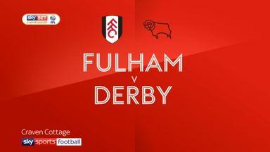 Fulham 1-1 Derby