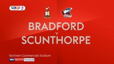Bradford 1-2 Scunthorpe