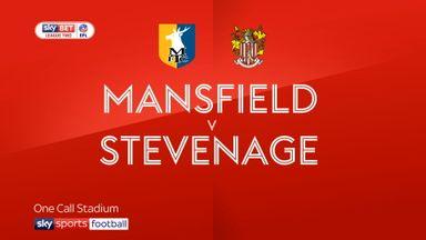 Mansfield 1-0 Stevenage