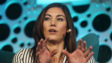 Hope Solo is running for president of the US Soccer Federation