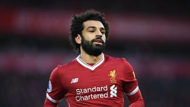 Liverpool's Mohamed Salah is the Premier League's top goalscorer with nine goals in 11 appearances this season