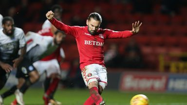 Ricky Holmes scored 19 goals in 58 appearances for Charlton in all competitions during a two-year spell at The Valley