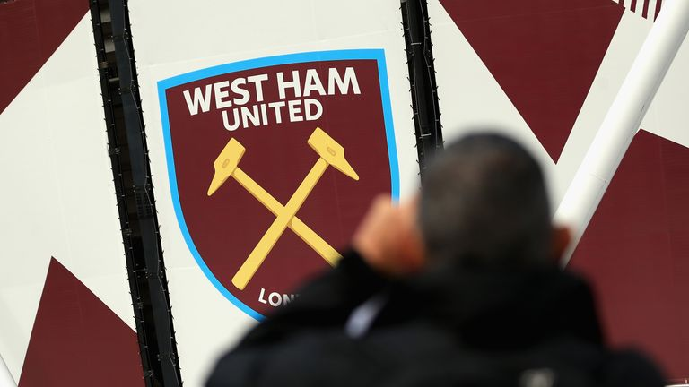 General view outside the London Stadium prior to the Premier League match between West Ham United and Tottenham Hotspur