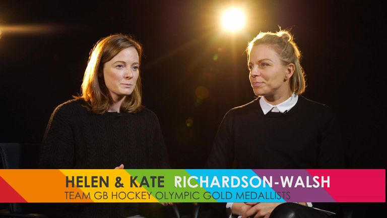 Kate and Helen Richardson-Walsh, My Icon, Sky Sports, Rainbow Laces