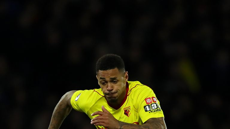 Andre Gray scored Watford's first pre-season goal