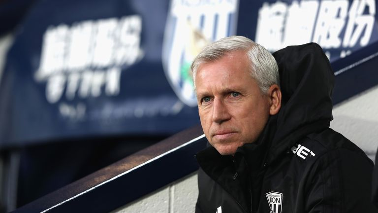West Brom manager Alan Pardew will return to his former club this week