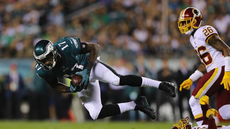 Alshon Jeffery, Eagles Agree to 4-Year Contract Extension