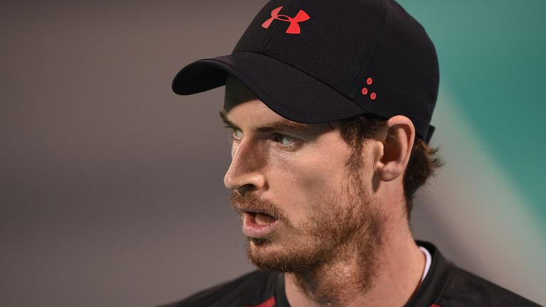 Murray played an exhibition set against Roberto Bautista Agut of Spain last week