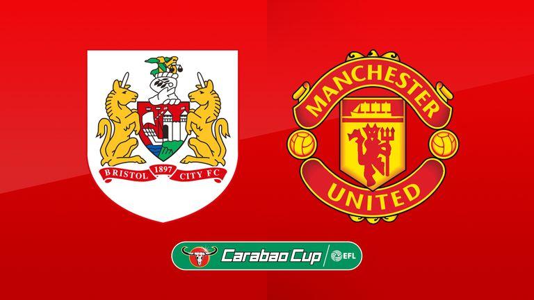پخش زنده و انلاین بازی منچستریونایتد و بریستول سیتی (جام اتحادیه)