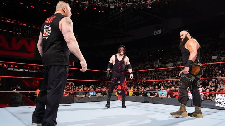 Why Braun Strowman won't face Brock Lesnar one-on-one at the Royal Rumble