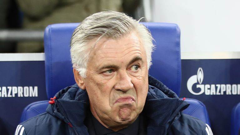 Billedresultat for carlo ancelotti napoli