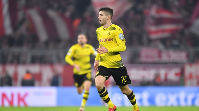 Pulisic is the USA's youngest scorer in the modern era, at 17 years and 253 days.