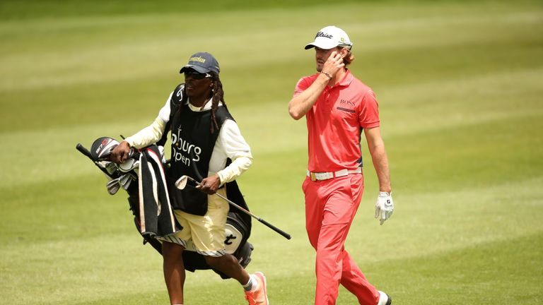 Keenan Davidse rises from sick bed to take lead at Joburg Open