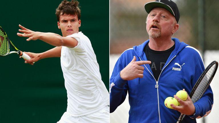 Daniel Altmaier has impressed German tennis legend Boris Becker