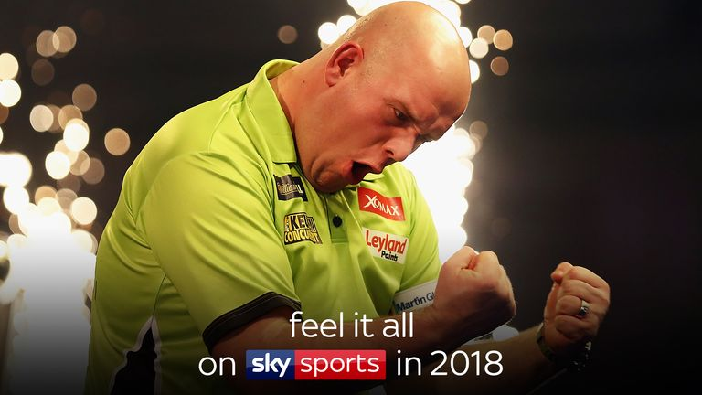 Feel it all on Sky Sports in 2018