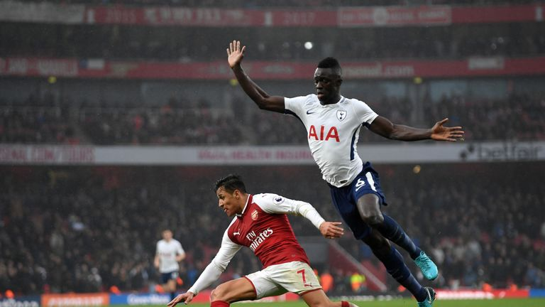 Davinson Sanchez is suspended for Tottenham