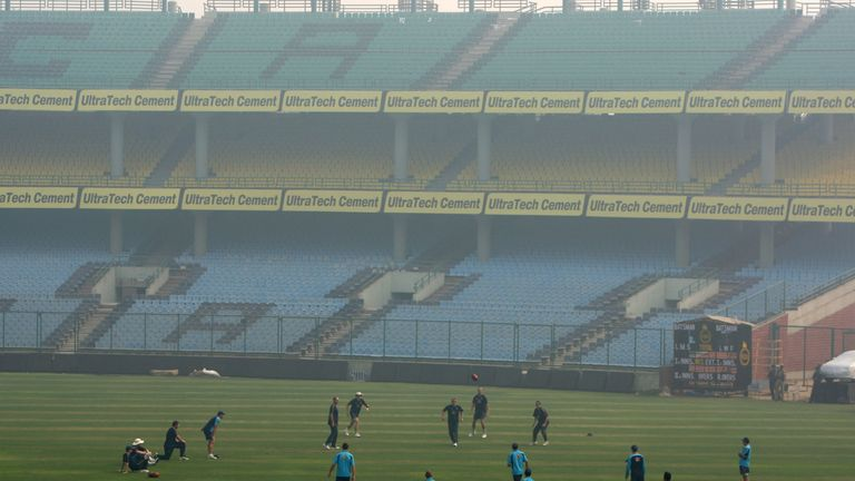 Smog has hampered sporting events in Delhi before