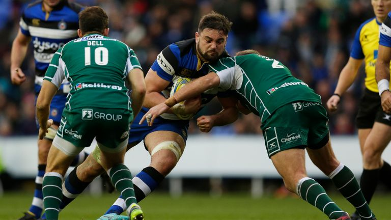 Elliott Stooke is one of three Bath players to sign a new deal