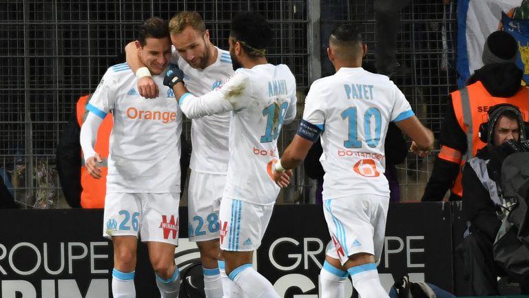 Lyon go second as Marseille wobble in Ligue 1