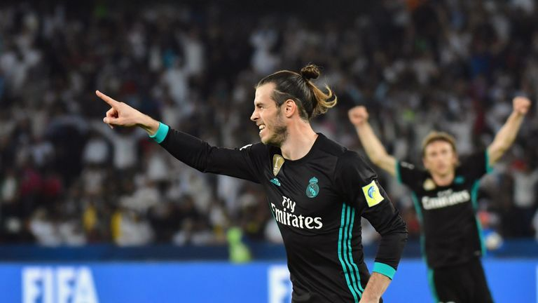 Bale has only featured in 13 games for Real so far this season