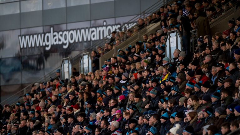 Over 7,000 fans had to evacuate the Scotstoun Stadium after a fire alarm sounded before half-time