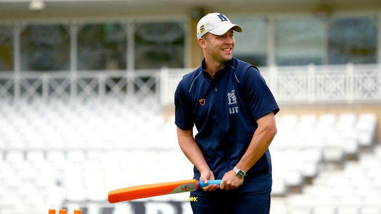 Jonathan Trott is England's batting coach for the Under-19 World Cup