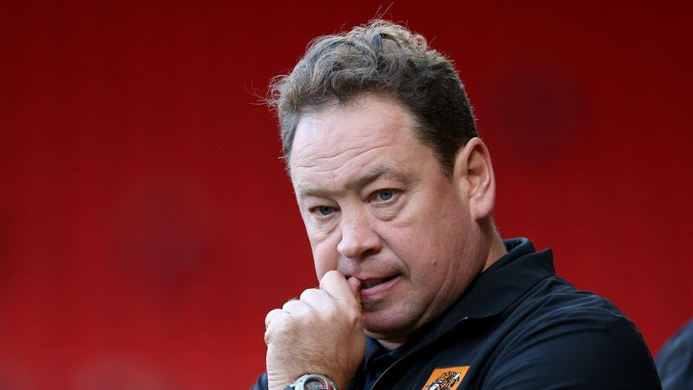 Hull have been without a head coach since Leonid Slutsky's departure
